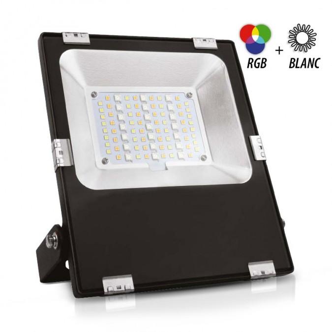 Projecteur LED RGBW 30W IP65