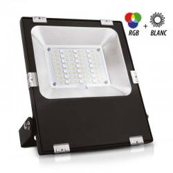 Projecteur LED RGBW 20W IP65