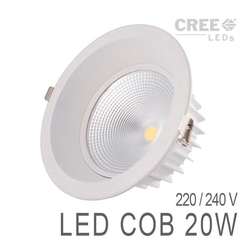 Downlight led cob 20w boutique officielle lumihome - Downlight led 20w ...