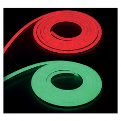 Bobine Néon Flex LED - RGB- 3 mètres -IP65 - 230V 22 x 11 mm