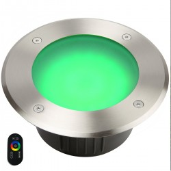 Spot 12V encastrable extérieur Ø175 mm RGB+CCT