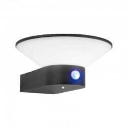 Applique murale LED Solaire conique + détecteur