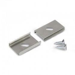Sachet de 2 supports de Fixation souple pour Profilé Alu LED 14.4mm
