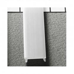 Diffuseur plat 17,6 mm pour Profilé LED Aluminium