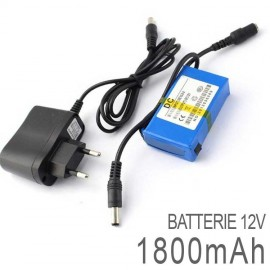 Batterie Rechargeable 12 Volts DC