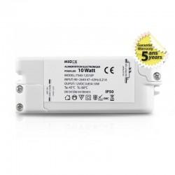 Transformateur LED 10W 12 Volts DC