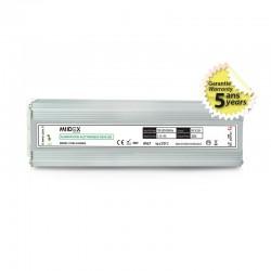 Transformateur LED 200W 24 Volts DC IP67