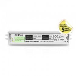 Transformateur LED 20W 24 Volts DC IP67