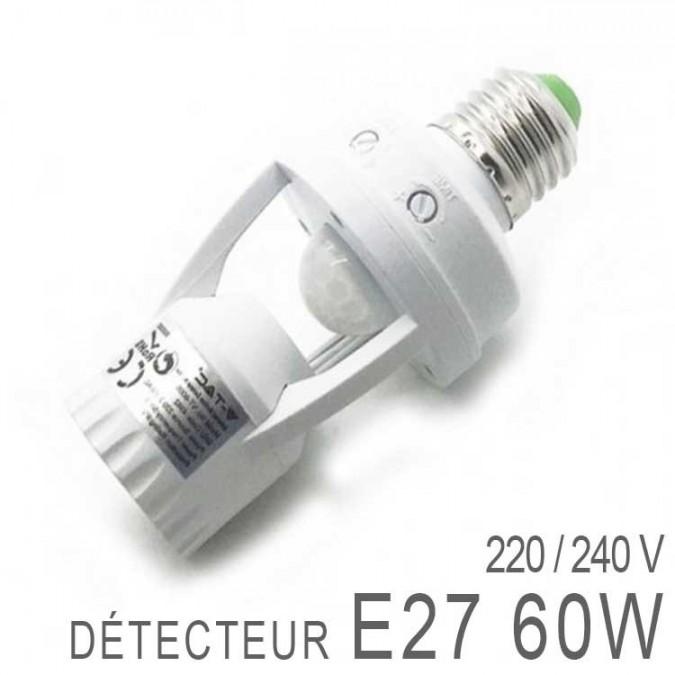 Détecteur de mouvement - Sensor - Culot E27
