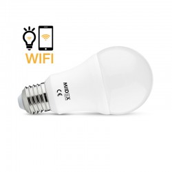 Ampoule LED CCT+RGB Connectée E27 12W