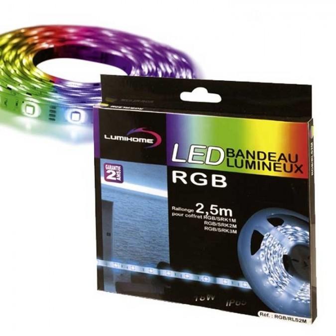 Rallonge 50cm Ruban LED RGB