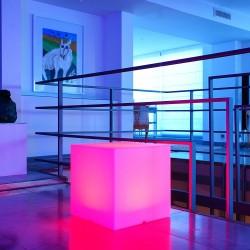 Cube lumineux Multicolore Rechargeable CARRY C H.20, 30 et 40cm