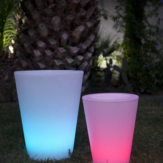 Pot lumineux Multicolore secteur COSMY C H.38 et 50cm