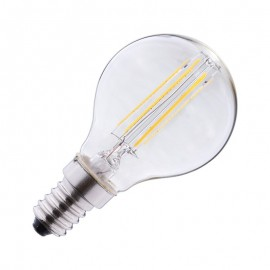Ampoule LED E14 4W COB Filament P45 (Dimmable en option)