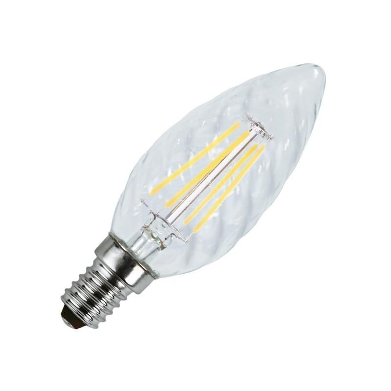 ampoule led e14 4w cob filament fl boutique officielle vision el. Black Bedroom Furniture Sets. Home Design Ideas