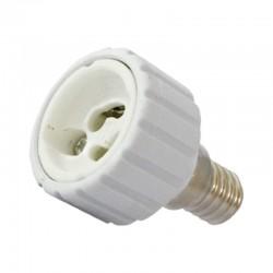 Adaptateur Douille E14 pour ampoule culot GU10