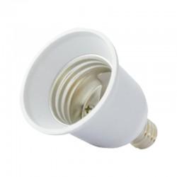 Adaptateur Douille E14 pour ampoule culot E27