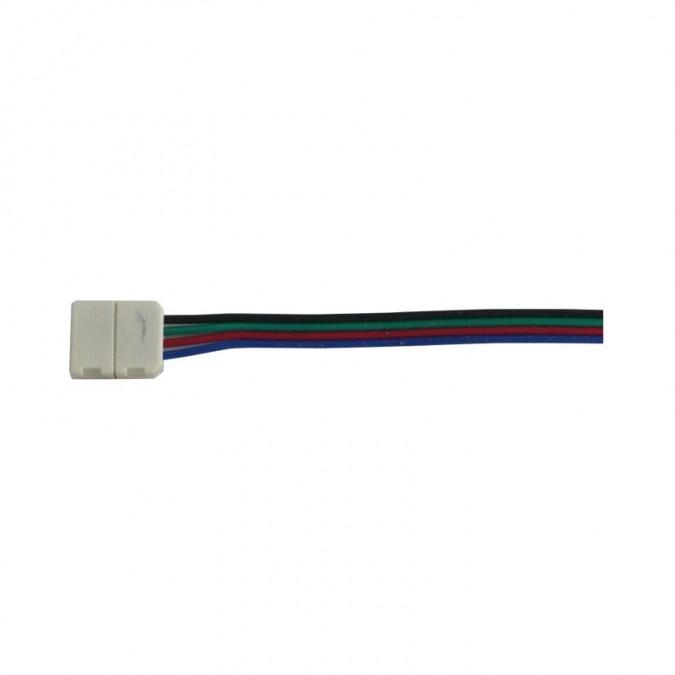 Connecteur de jonction Filaire (Angle) - Ruban LED RGB 10mm
