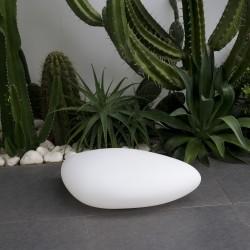 Galet lumineux blanc STONY W20