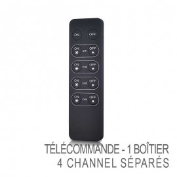Télécommande sans-fil - 4x Channel pour boîtiers variateur RF Sunricher