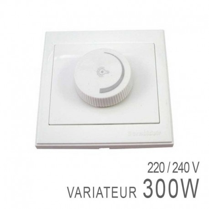 Interrupteur - Variateur spécial LED 230V