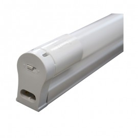 Support simple + Tube LED T8 24W 1500 mm