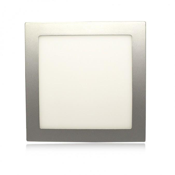 Downlight LED Carré Extra-plat (Panel LED) 20W Alu