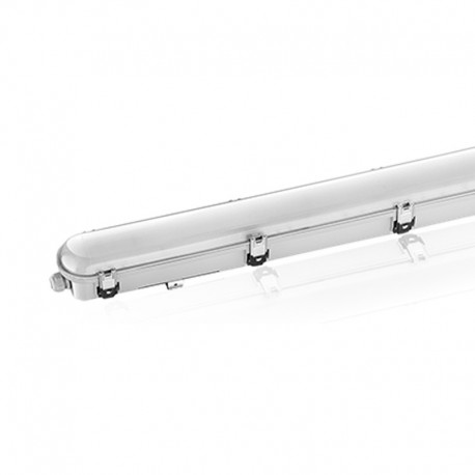 Boitier étanche LED intégrées 54W Traversant
