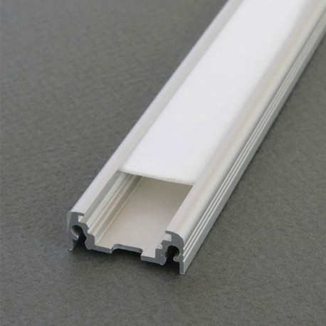 Profilé Aluminium LED Plat - Ruban LED 10mm
