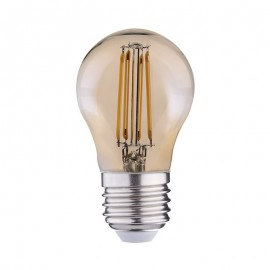 Ampoule LED E27 4W COB Filament G45 Golden