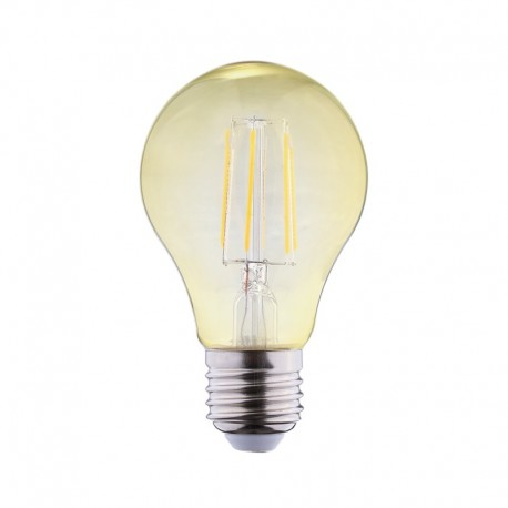 Ampoule LED E27 6W COB Filament Bulb Golden (Dimmable en option)