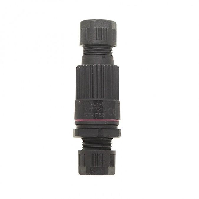 Connecteur Boitier Traversant étanche IP68 3 fils