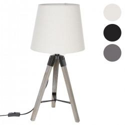 Lampe à trépied RUNO en bois H56