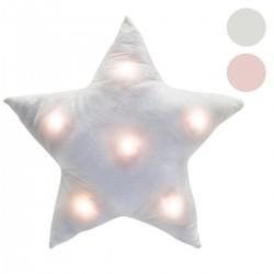 Coussin Étoile à LED 42x42