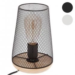 Lampe en métal & bois H23