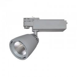 Spot Rond sur Rail LED COB 40W