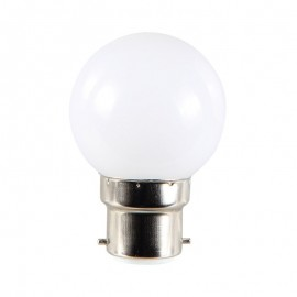 Ampoule LED B22 1W RGB Multicolore