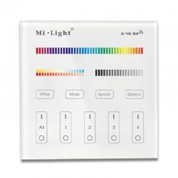 Télécommande murale RGBWW pour ampoules connectées