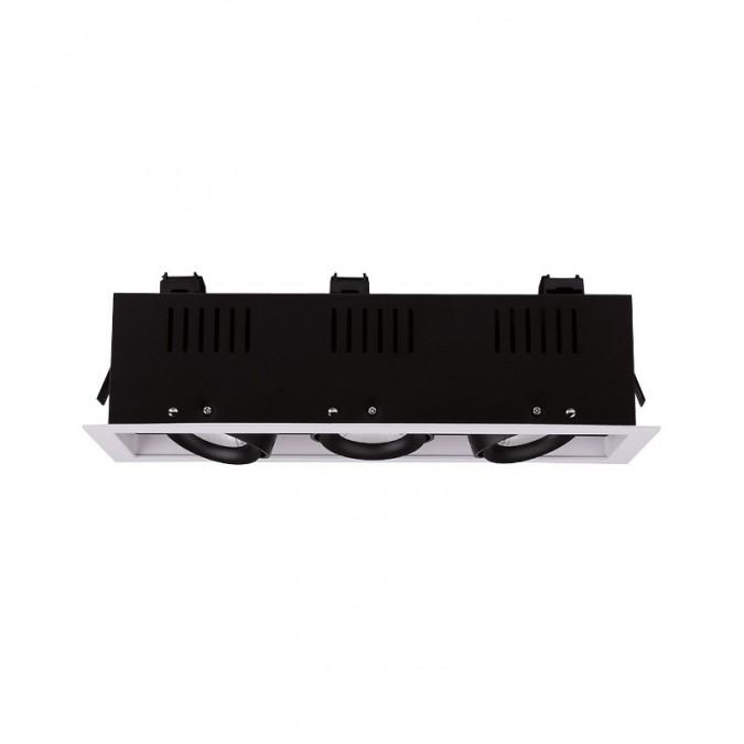Spot LED cardan orientable 3x10W