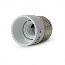 Adaptateur Douille E27 pour ampoule culot E14