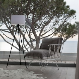 Lampadaire contemporain Multicolore et Rechargeable TAMBORY