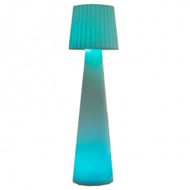 Lampadaire contemporain Multicolore et Rechargeable LADY