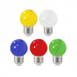 Ampoule LED E27 1W Couleur