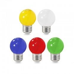 Ampoule LED E27 1W Couleur