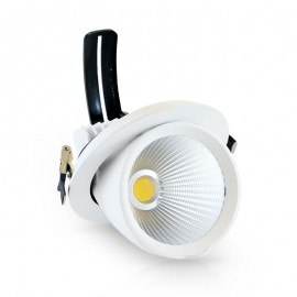 Spot Orientable LED COB Escargot 40W