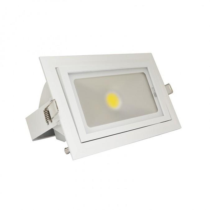 Spot Orientable LED COB Rectangulaire 45W