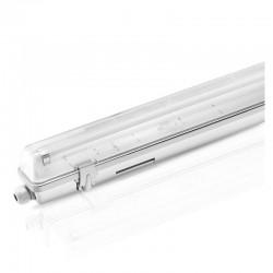 Boitier Réglette Étanche pour Tube LED T8 1500mm