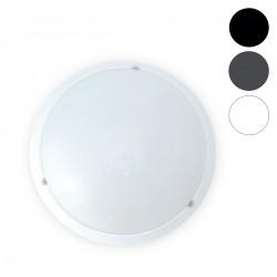 Plafonnier LED 18W Rond Ø300 mm (détecteur en option)