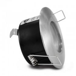 Support de spot Rond étanche IP65 Aluminium Ø82mm