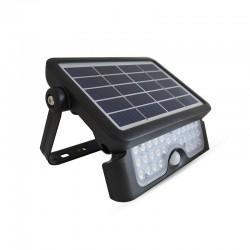 Projecteur LED extérieur 5W solaire + détecteur
